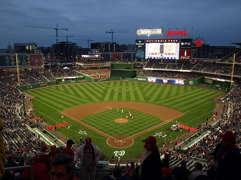 Nationals Park might offer DC sports betting in the near future